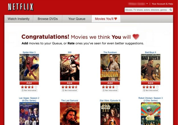 Rekomendasi film dari Netflix