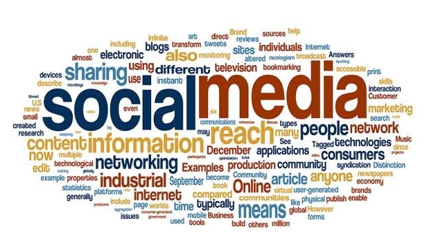 Informasi bertebaran di media sosial