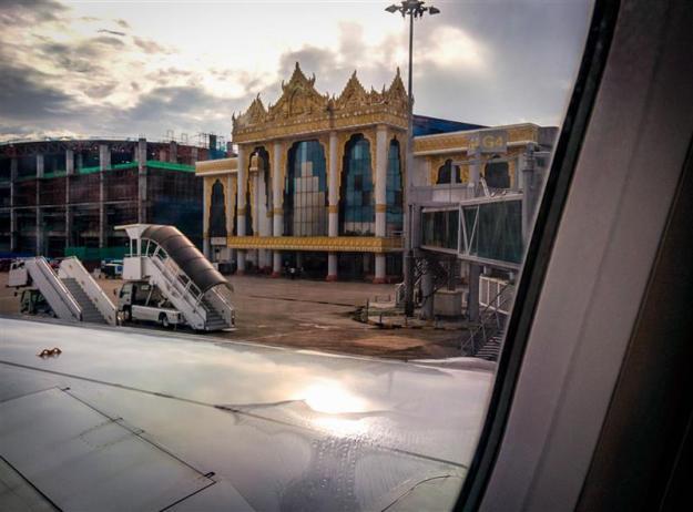 Mendarat di Yangon International Airport