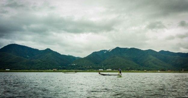 Nelayan di Inle Lake