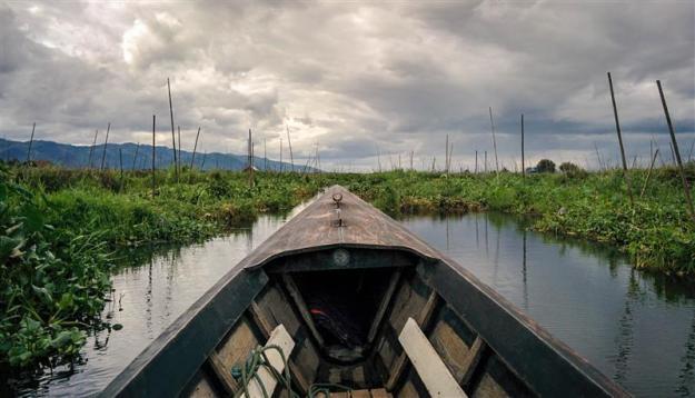 Menyusuri floating farm