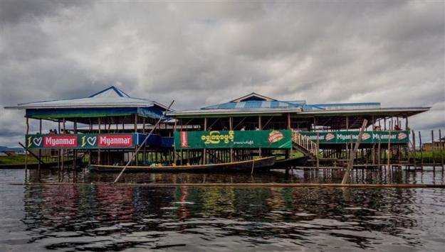 Restoran di Inle lake