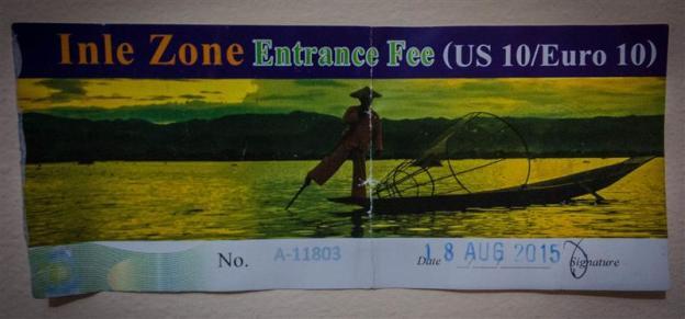 Tiket masuk Inle Lake