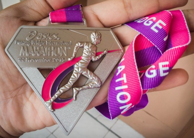 Medali finisher PBIM 2015
