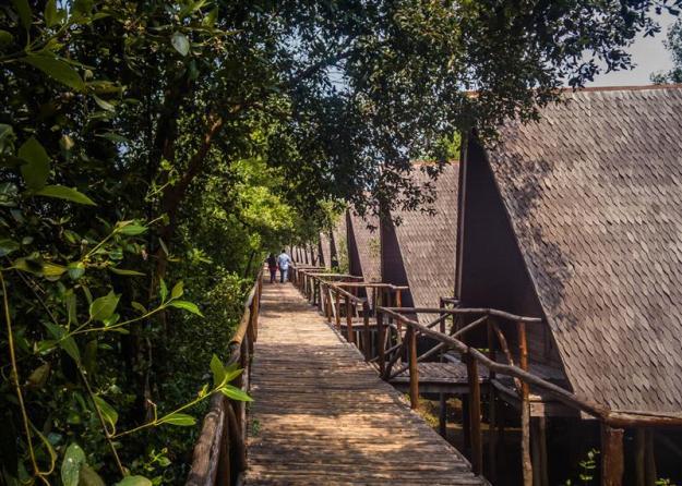 Bungalow-bungalow di Angke Kapuk