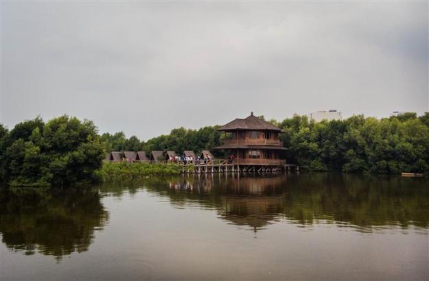 View salah satu sudut Angke Kapuk