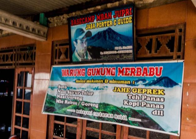 Basecamp Mbah Jupri di Desa Genting