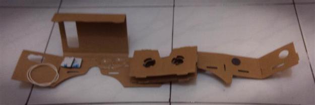 google cardboard - bongkar