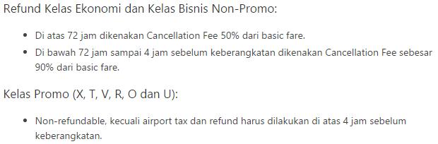 Keterangan refund Lion Air di Traveloka