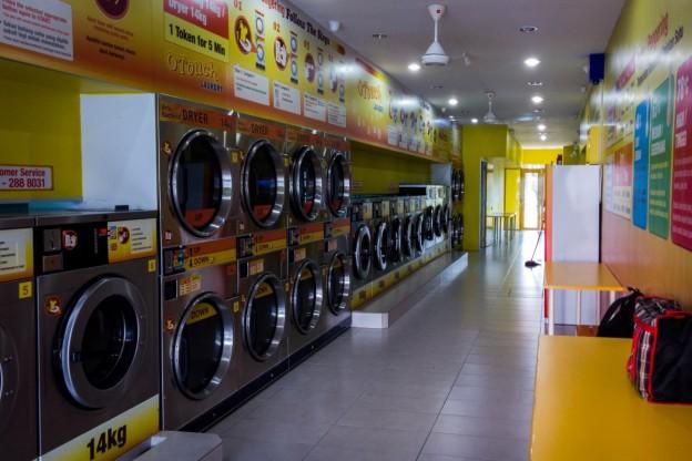 Self Service Laundry Musafir Kehidupan