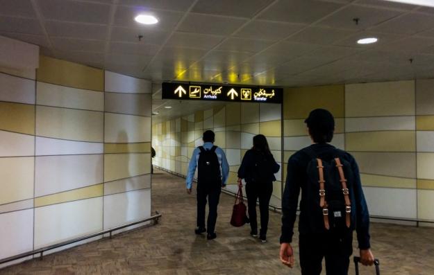 Tiba di Bandara Internasional Brunei
