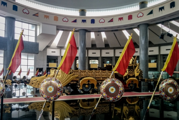Hall utama The Royal Regalia Museum