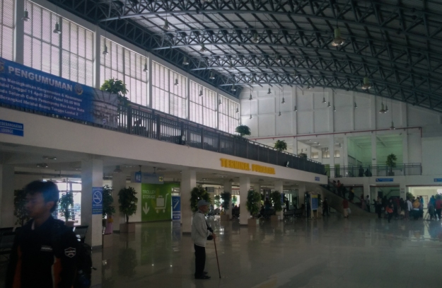 Departure Hall Terminal Purabaya