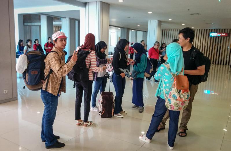 Tiba di Bandara I Gusti Ngurah Rai