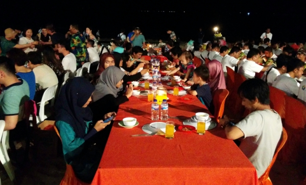 Dinner di Jimbaran