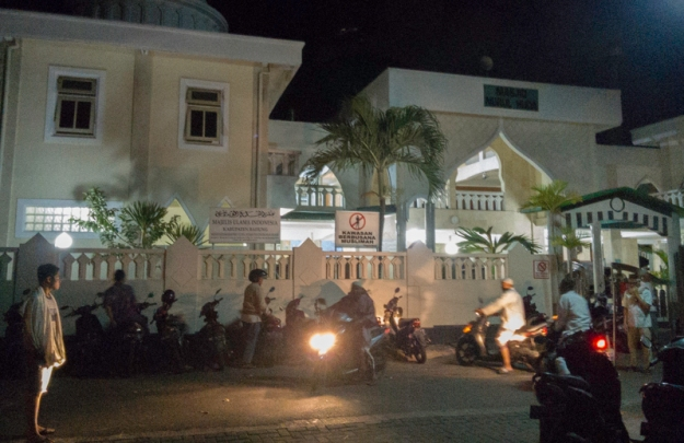 Jamaah subuh Masjid Nurul Huda