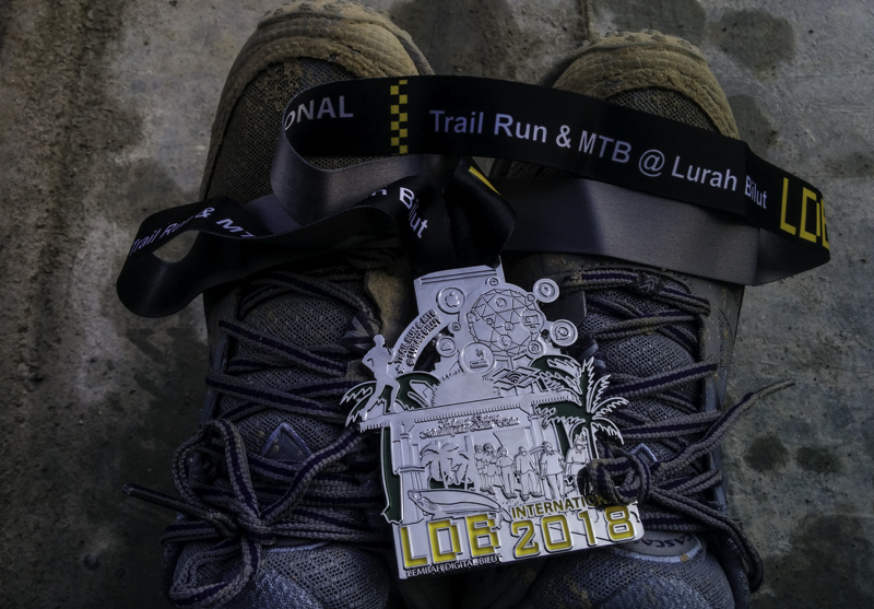 Medali Trail Run LDB International 2018