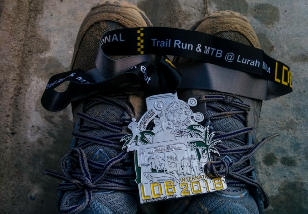 Medali Trail Run LDB International 2018