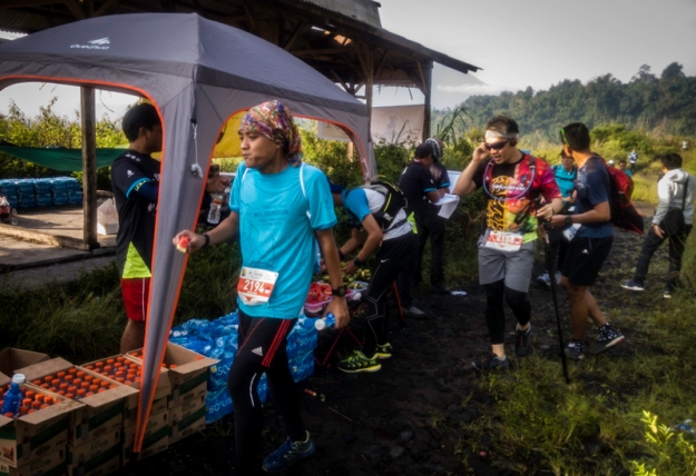 Water station di KM 4