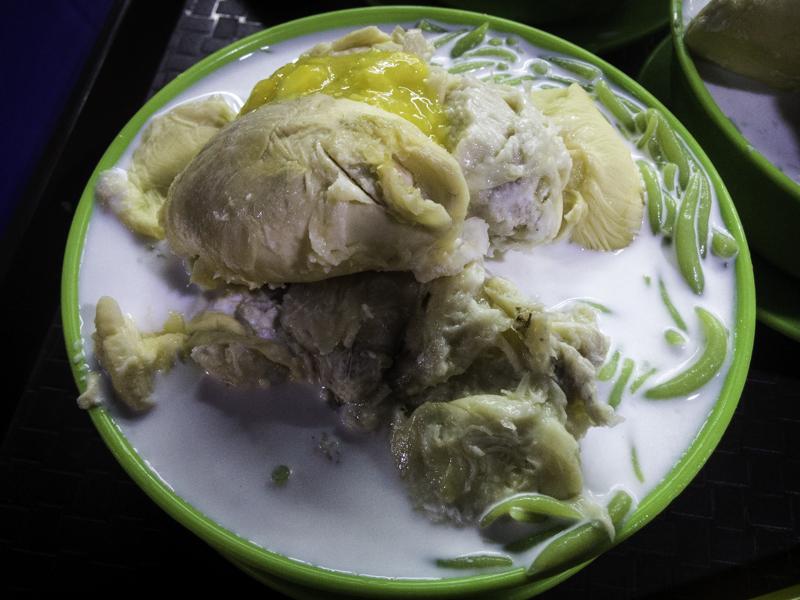 Es Cendol Durian Runtuh