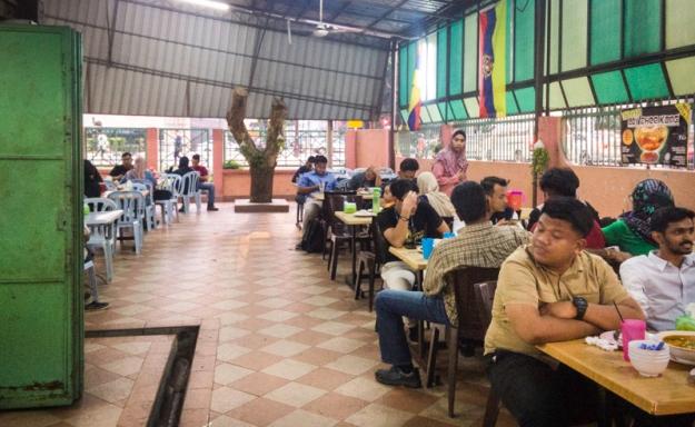 Suasana Restoran Kak Mah Tomyam