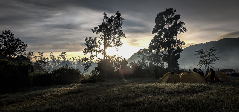 Sunrise di Ranca Upas