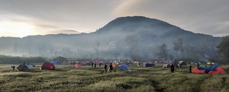 Tenda-tenda di Ranca Upas