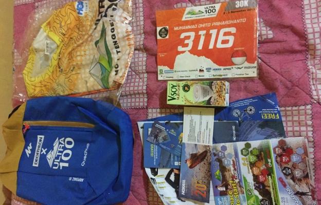Race Pack BTS Ultra 100 2019 30K