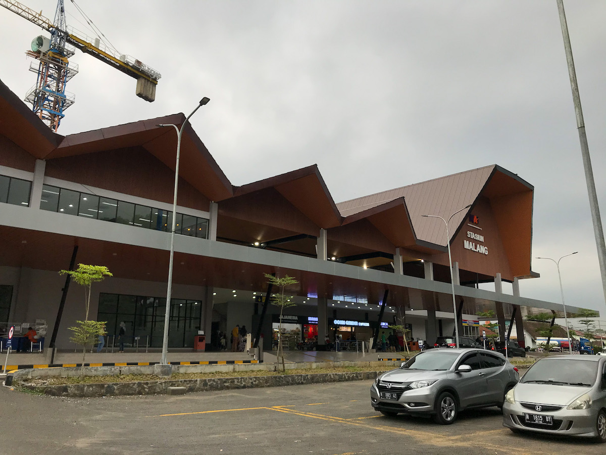 Gedung Stasiun Malang Kota Baru yang Baru
